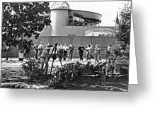 Nudes At 1939 Ny World's Fair Greeting Card