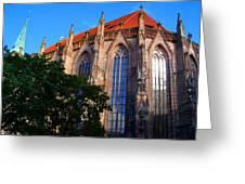 Nuremberg Cathedral Greeting Card