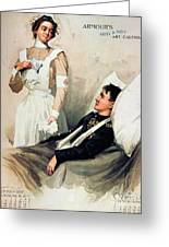 Nurse: Calendar, 1899 Greeting Card