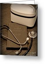 Nurse - The Care Giver Greeting Card