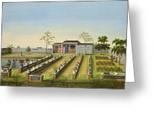 Nursery Garden, C.1820-40 Greeting Card