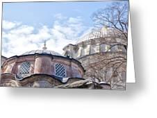 Nuruosmaniye Mosque 02 Greeting Card