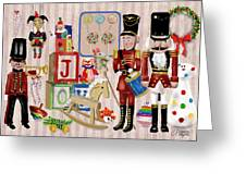 Nutcracker And Friends Greeting Card