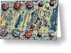 Nuts And Rivets  Greeting Card