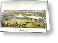 Nyc Central Park, C1859 Greeting Card