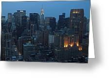 Nyc Chrysler Building Greeting Card
