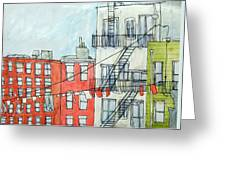 1st Ave Greeting Card