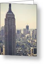 Nyc - Empire State Building Greeting Card