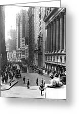 Nyc Financial District Greeting Card