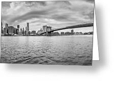 Nyc Landscape Greeting Card
