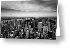 Nyc Uptown Greeting Card