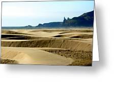 Nye Dunes Greeting Card by Mamie Gunning