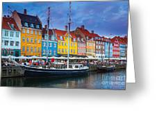 Nyhavn Canal Greeting Card