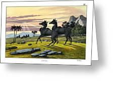 Nylghau Greeting Card