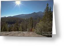 Nymph Lake And Longs Peak Greeting Card