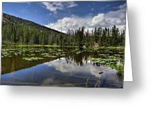 Nymph Lake Greeting Card
