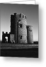 Briens Tower At The Cliffs Of Moher Greeting Card