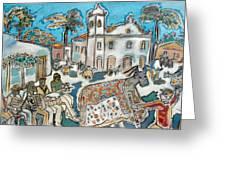 O Bumba-meu-boi De Tracunhaem Greeting Card