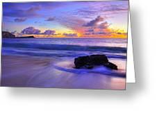Oahu Sunrise Greeting Card