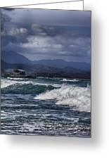 Oahu Surf Greeting Card