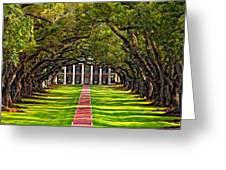 Oak Alley Greeting Card
