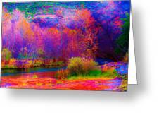 Oak Creek Acid 2 Greeting Card