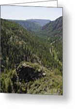 Oak Creek Canyon Overlook Greeting Card