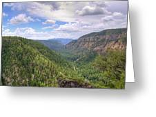 Oak Creek Canyon Greeting Card