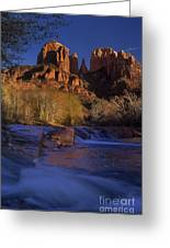 Oak Creek Crossing Sedona Arizona Greeting Card