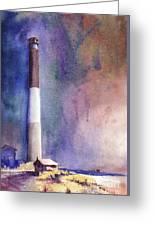 Oak Island Lighthouse Greeting Card