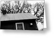 Oak Tree Farm House Greeting Card