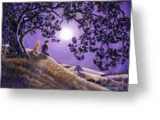 Oak Tree Meditation Greeting Card