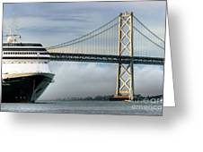 Oakland Bay Bridge  Greeting Card