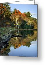 Oakley Corners State Forest Greeting Card