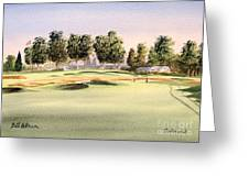 Oakmont Golf Course 14th Greeting Card