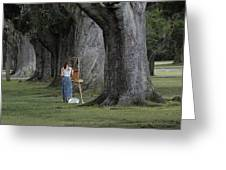 Oaks Of Audubon Park Greeting Card