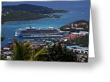 Oasis Of The Seas Greeting Card