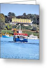 Oasis On The Ocean Greeting Card