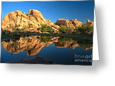 Oasis Reflections Greeting Card