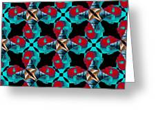 Obama Abstract 20130202m180 Greeting Card