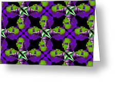 Obama Abstract 20130202m88 Greeting Card
