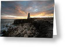 Obelisk Monument  Greeting Card by Ollie Taylor