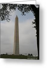 Obelisk - Washington Dc Greeting Card