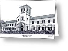 Oberlin College Greeting Card by Frederic Kohli