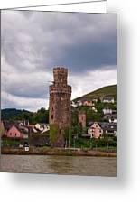 Oberwesel Am Rhein Greeting Card