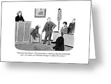Objection, Your Honor!  The Prosecution Greeting Card