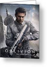 Oblivion Tom Cruise Greeting Card