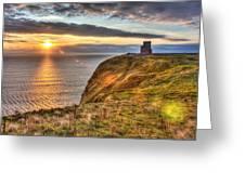 O'brien's Tower Ireland Greeting Card