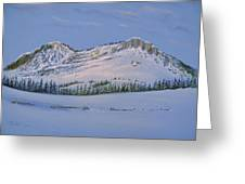 Observation Peak Greeting Card by Michele Myers