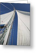Obsession Sails 2 Greeting Card